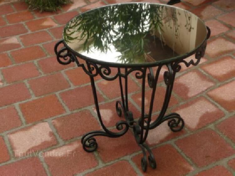 TABLE FER FORGE ART DECO 92585075
