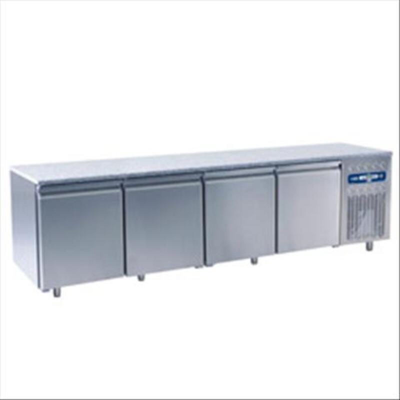 Table frigorifique 4 portes pâtisserie 760 litres topgranit 69914513