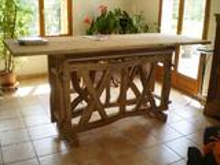 Table haute 240 X 84 H 108