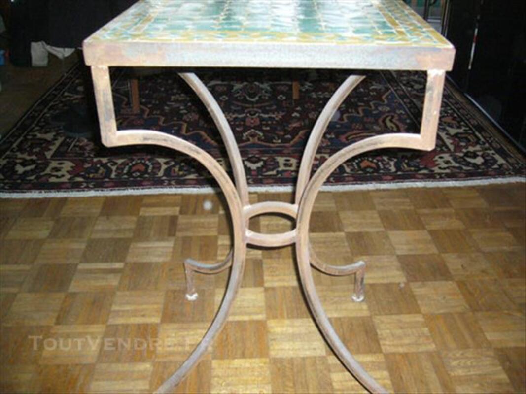Table marocaine en zellige 77566042
