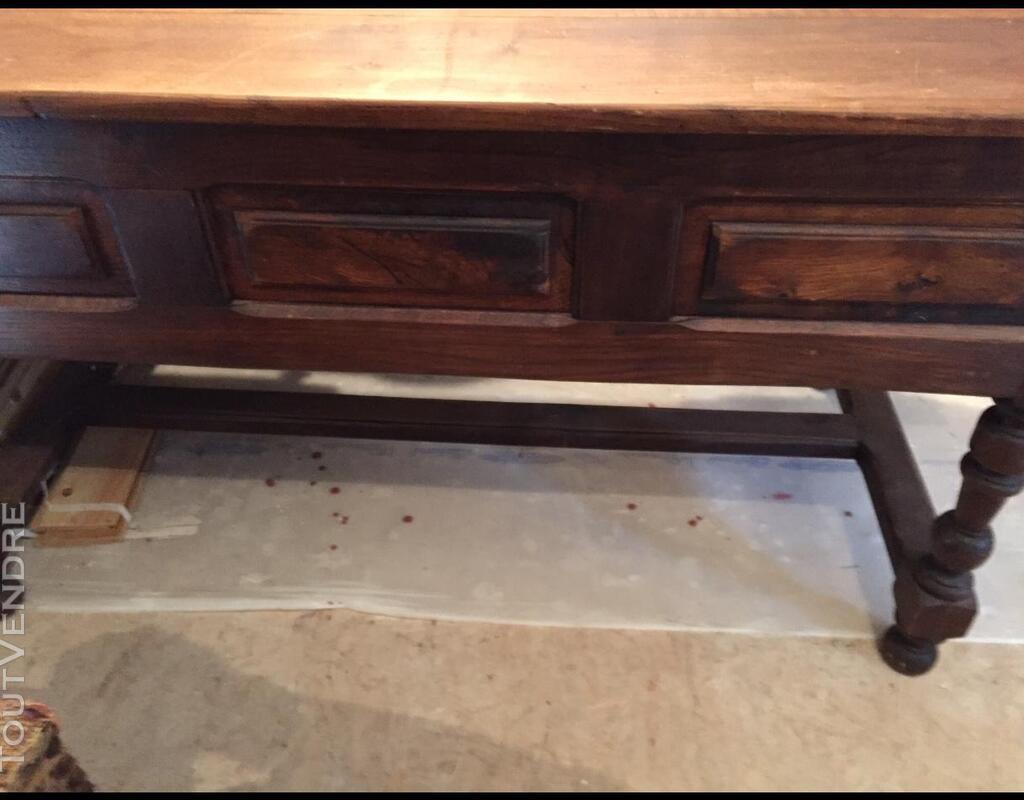 Table monastère, bureau, chêne massif 444950096