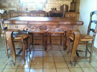 Table Provençale avec Rallonge