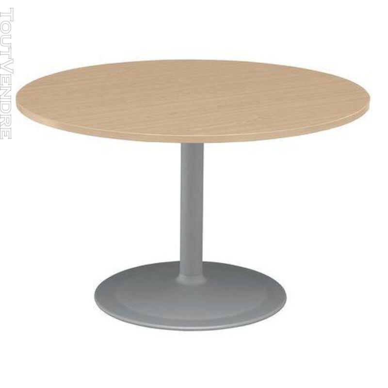 Table ronde - Pied tulipe en hêtre  a028417 351116053
