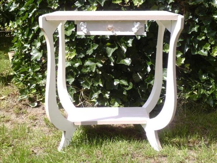 Table ,selette, console, patinee a l'ancienne shabby 86154228