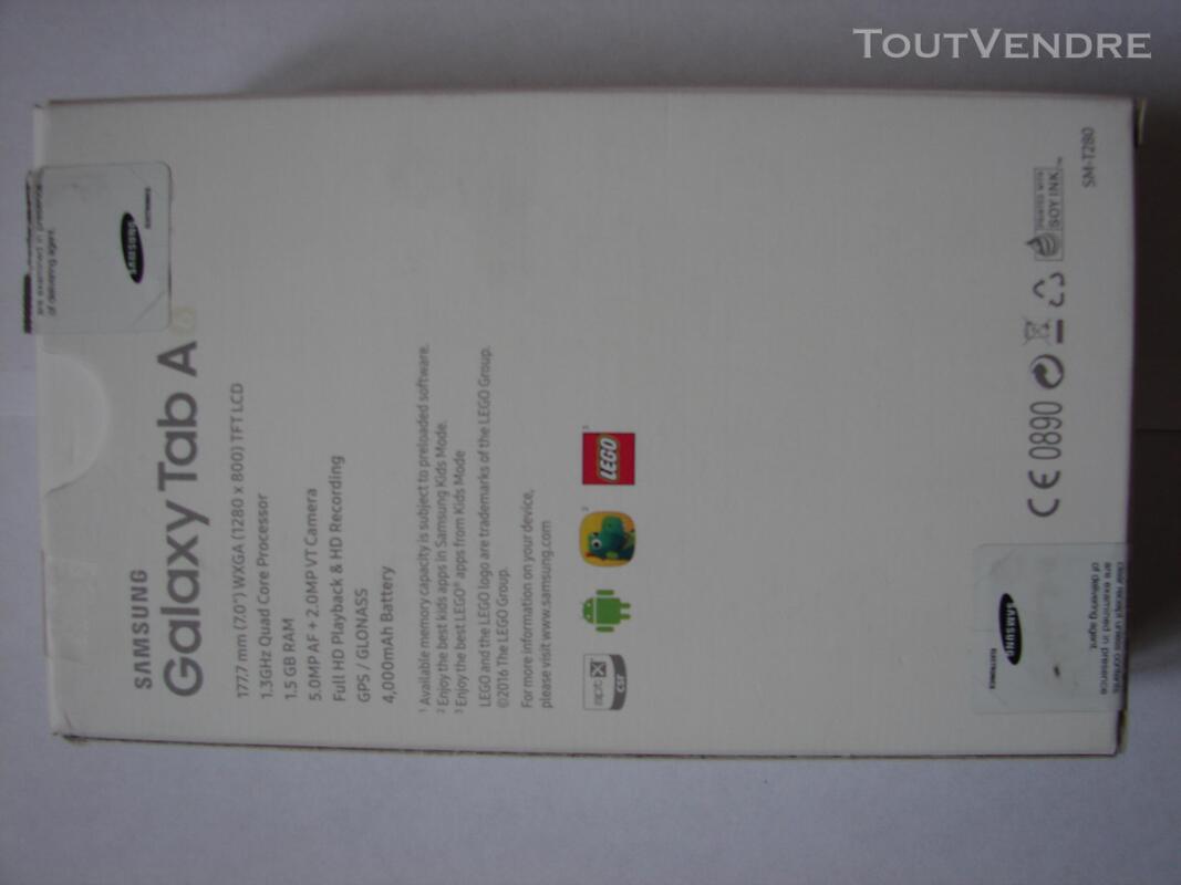 Tablette Samsung Galaxy 7 pouces, aucune rayure parfait état 634389395