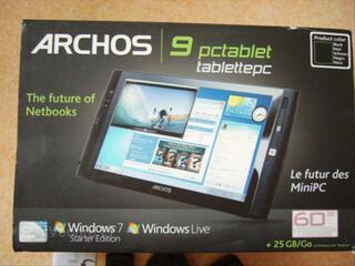 Tablette tactile archos 9