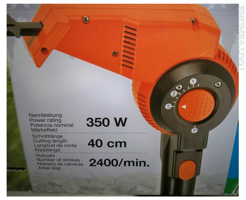 Taille-Haies Electrique Télescopique Gardena THS 400 neuf 319693642