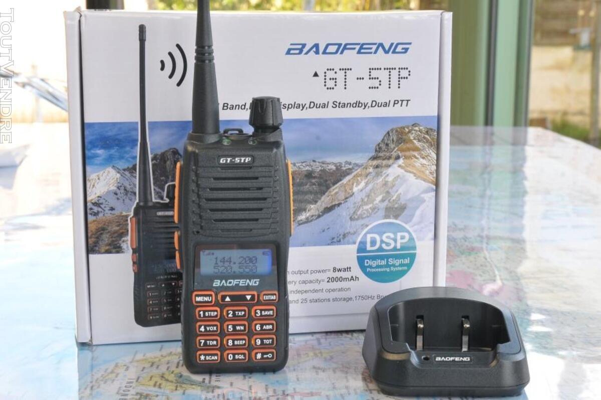 Talkie-Walkie Baofeng GT-5TP Tri-Power 8W 528210861
