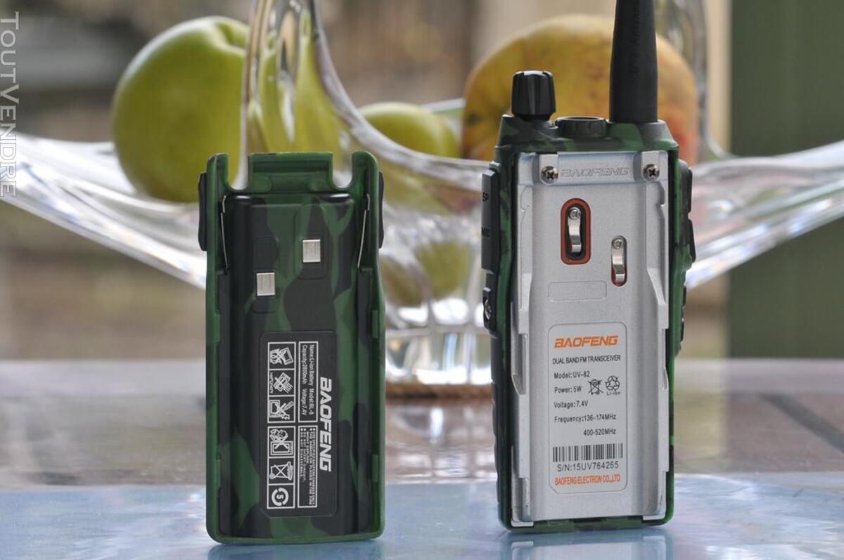 Talkie-Walkie VHF-UHF Baofeng-Pofung UV-82L 528210789