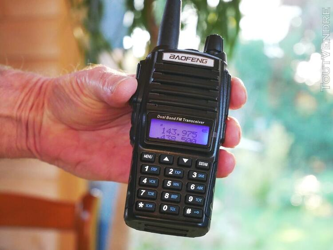 Talkie-Walkie VHF-UHF Baofeng UV-82L 8 Watts 654501913
