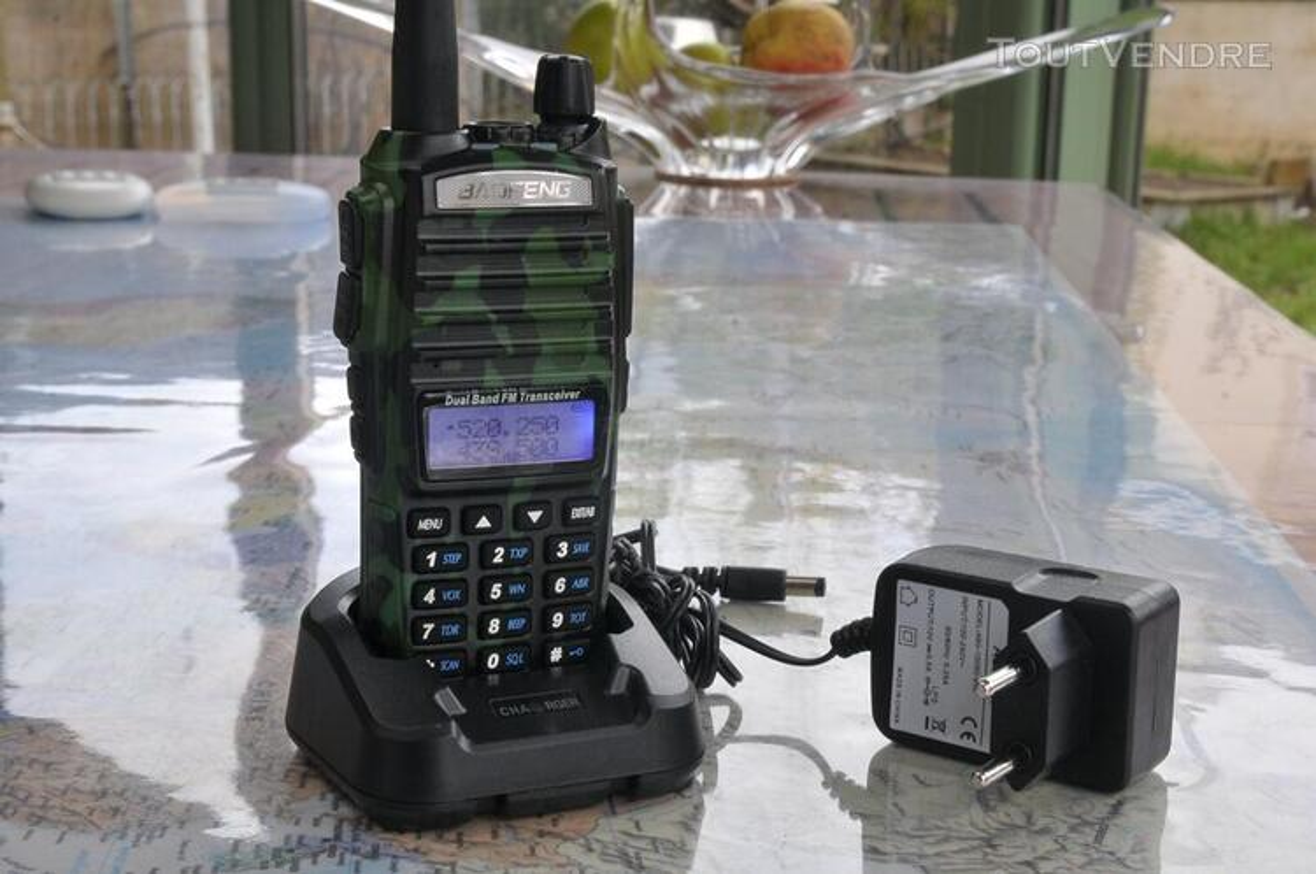 Talkie-Walkie VHF-UHF Baofeng UV-82L 8Watts 528210729