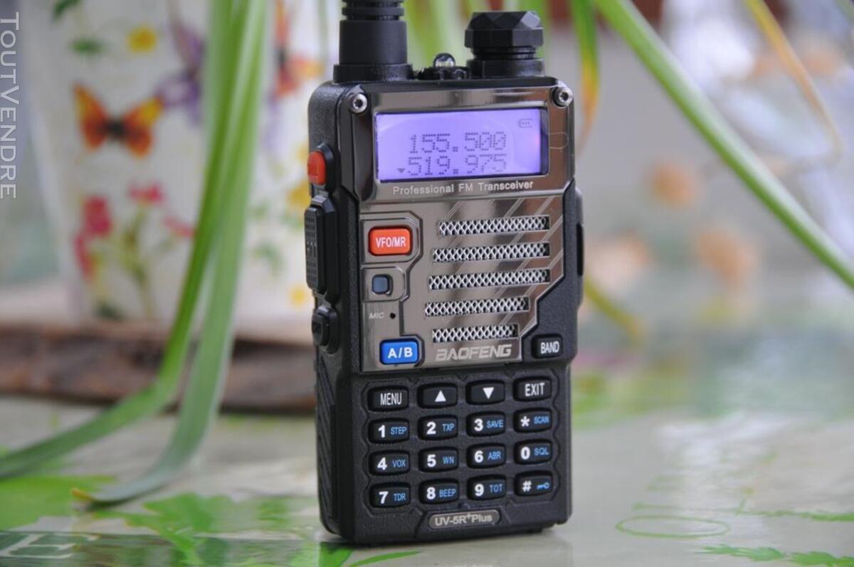 Talkie-walkie VHF-UHF UV-5R+ 600212813