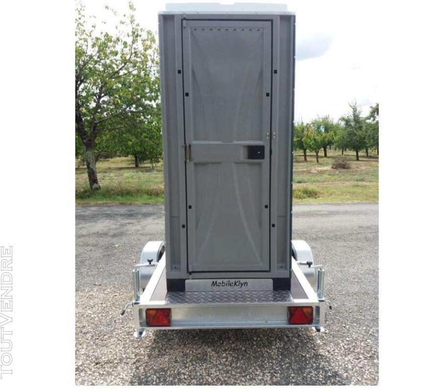 Tandem Mobileklyn , remorque toilette solo ou double 689819119