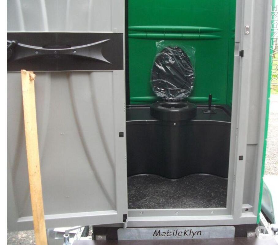 Tandem Mobileklyn , remorque toilette solo ou double 689819188