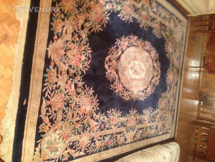Tapis Chinois Monumental Pure Laine Noué Main 16 m2 125879577