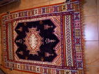 Tapis marocain fait main 150x110 cm