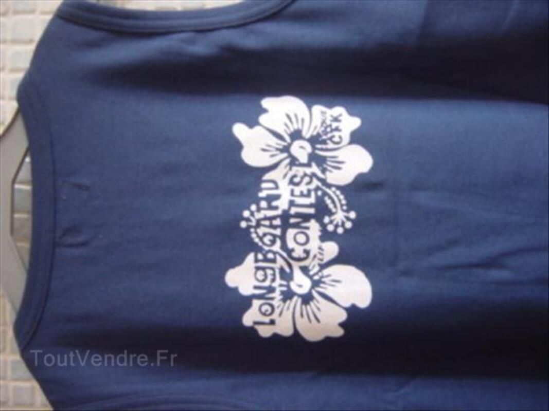 TEE SHIRT DEBARDEUR FEMME TAILLE/14 ANS MARQUE CFK 56313372