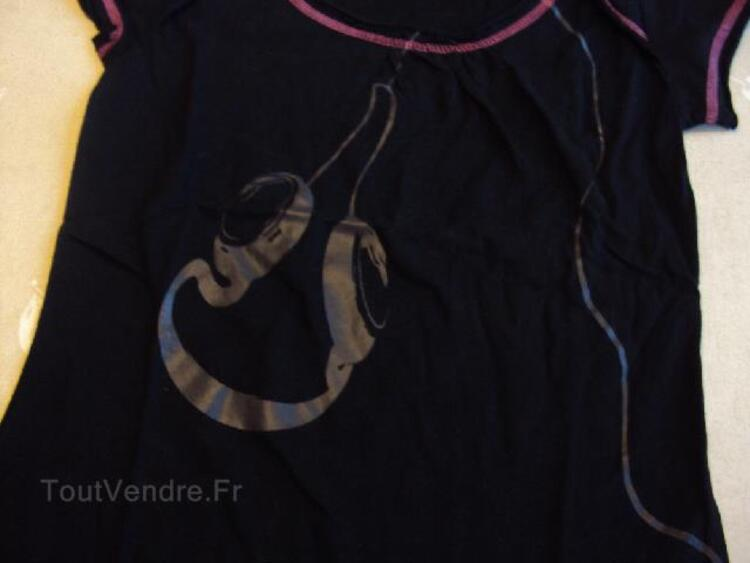 Tee-shirt fille 14 ans manches courtes 94091301