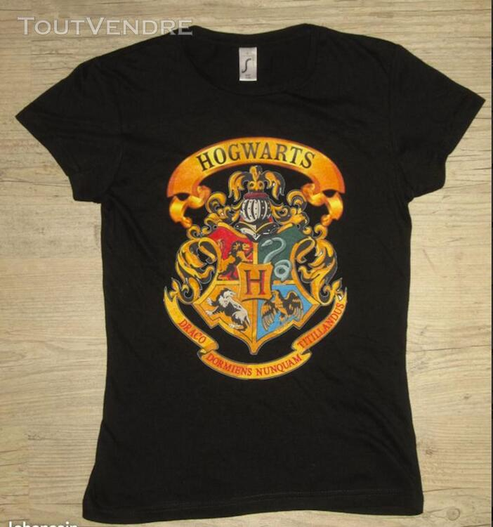 Tee shirt HARRY POTTER HOGWARTS taille S 291981292