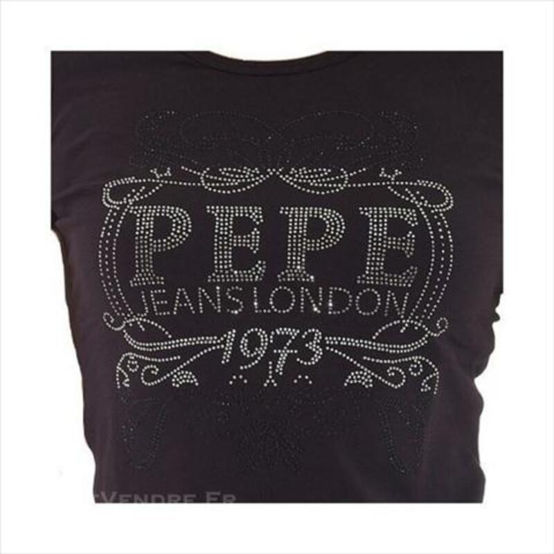 Tee shirt pepe jeans femme kalei 74035395