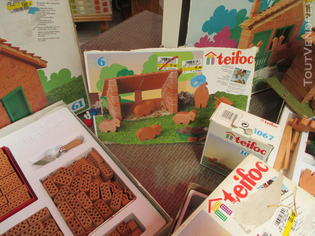 Teifoc jeux construction vrais briques + de 1500 pièces lot 153416665