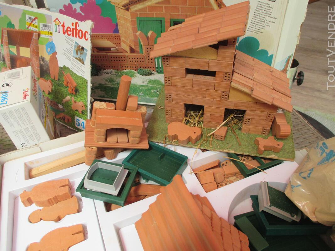 Teifoc jeux construction vrais briques + de 1500 pièces lot 153416824