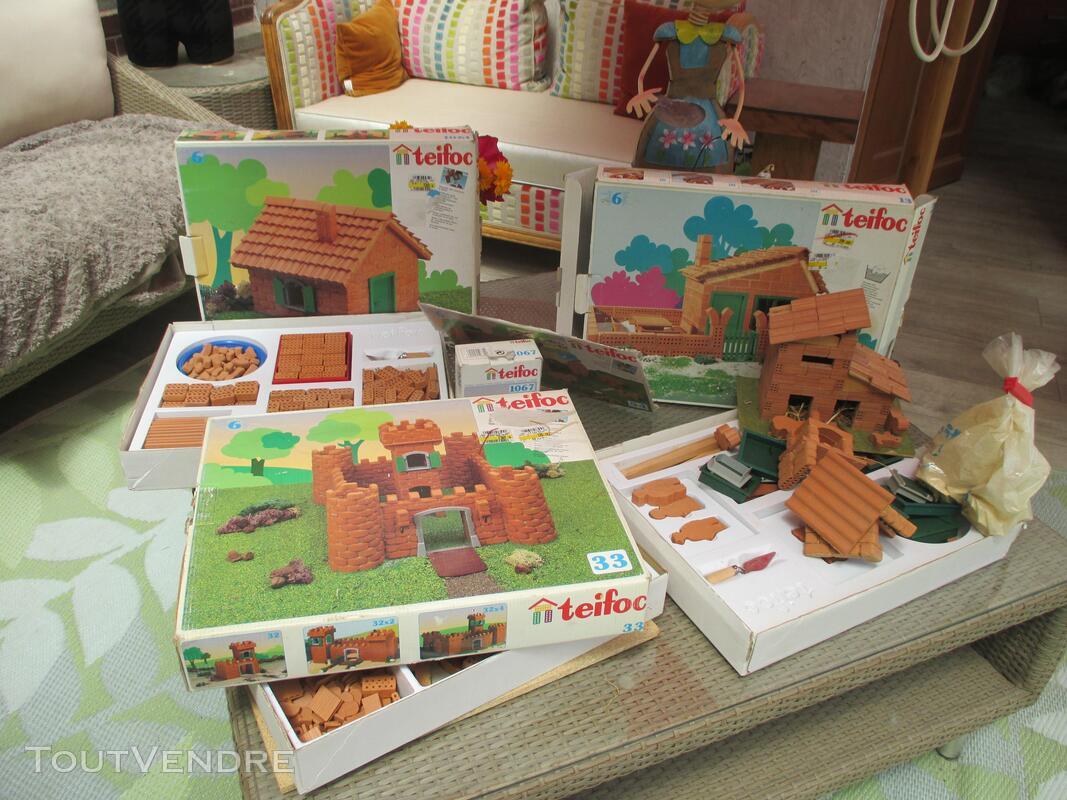 Teifoc jeux construction vrais briques + de 1500 pièces lot 153416839