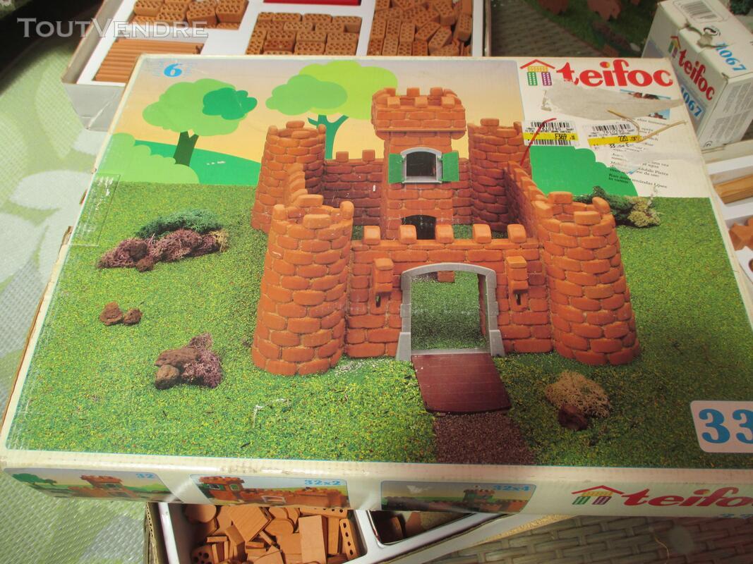 Teifoc jeux construction vrais briques + de 1500 pièces lot 153416959