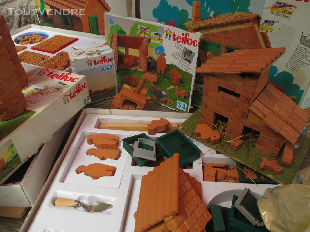 Teifoc jeux construction vrais briques + de 1500 pièces lot 153417709