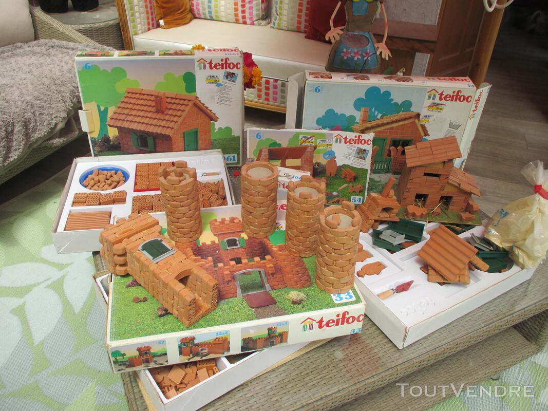 Teifoc jeux construction vrais briques + de 1500 pièces lot 153417754