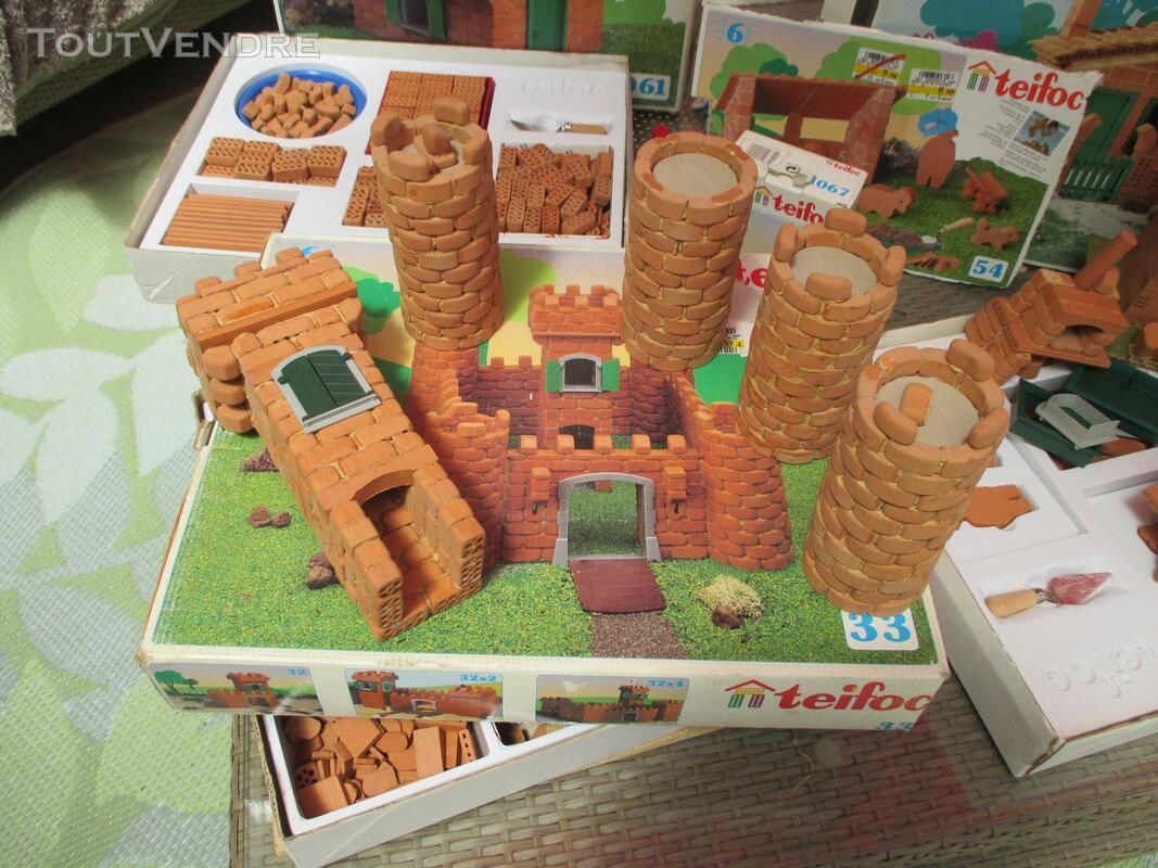Teifoc jeux construction vrais briques + de 1500 pièces lot 153417817