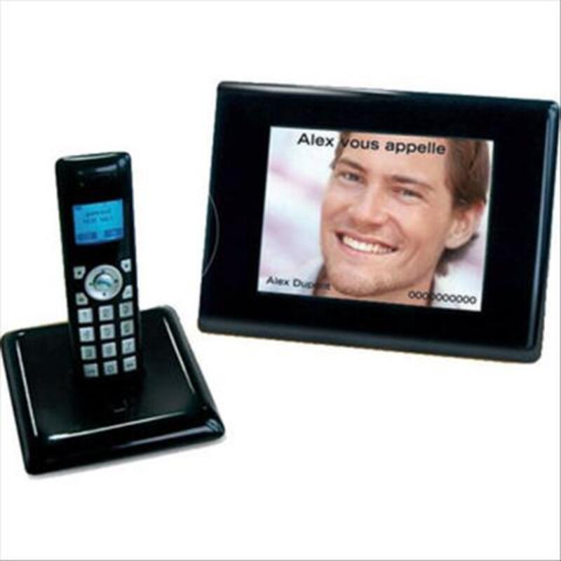 Telephone sans fils avec cadre photo numérique NEUF 44027126