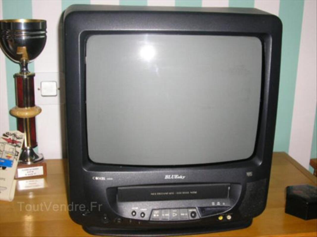 Téléviseur couleur avec magnétoscope 36 cm 46715244