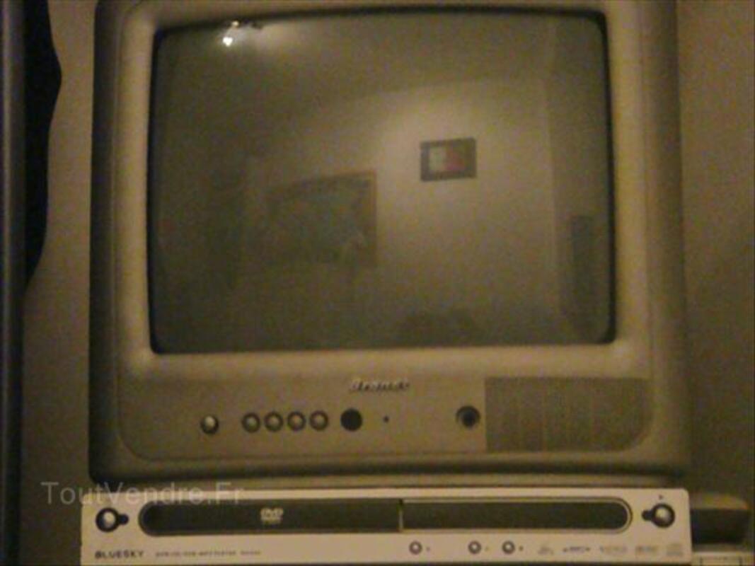 Television BRANDT + Lecteur DVD Bluesky 64470263