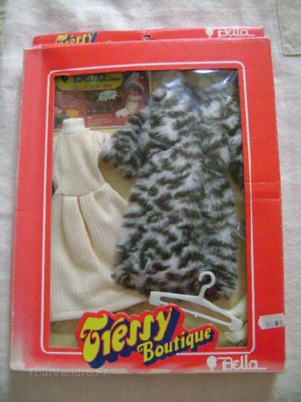 Tenue Tressy poupée mannequin année 1970 sous boîte 94736743