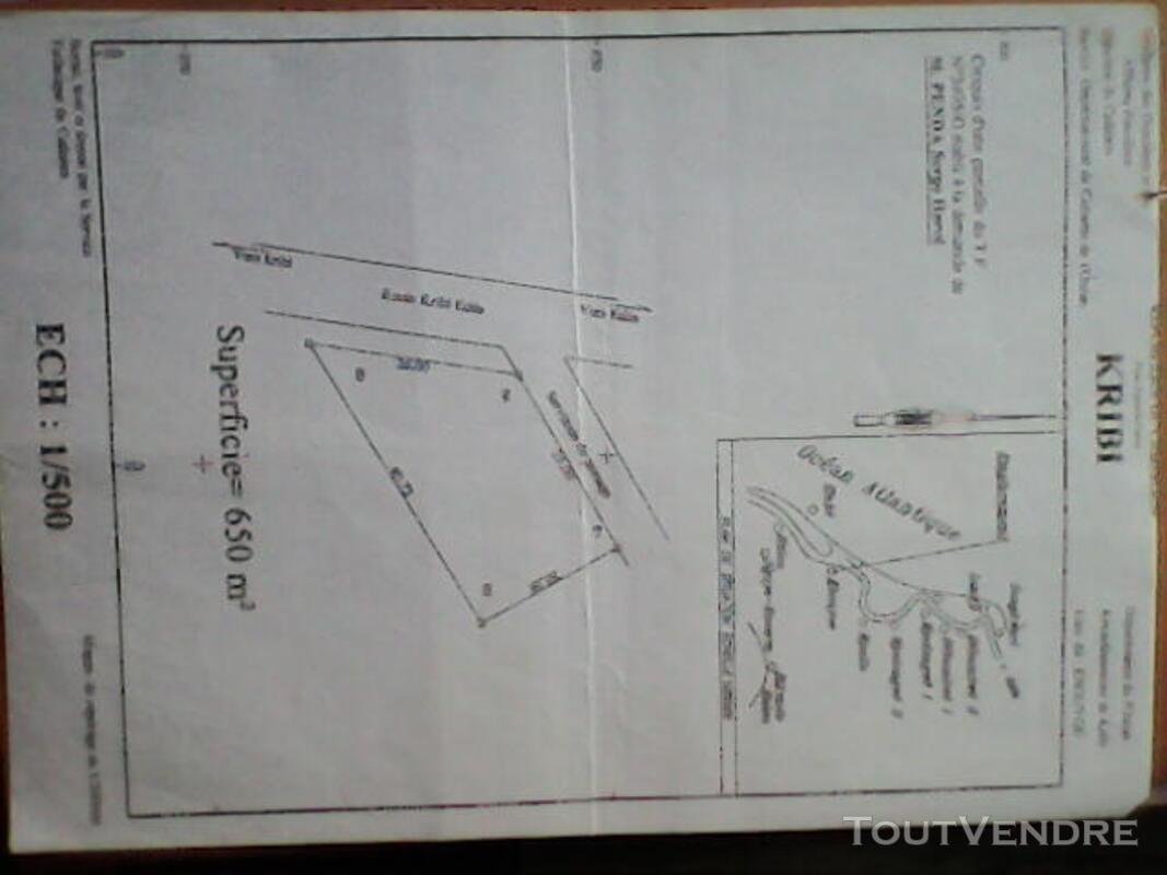 Terrain a vendre à kribi 496582604