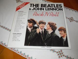 The Beatles & John Lennon Rock 'N' Roll Coffret 3 Vinyles 33