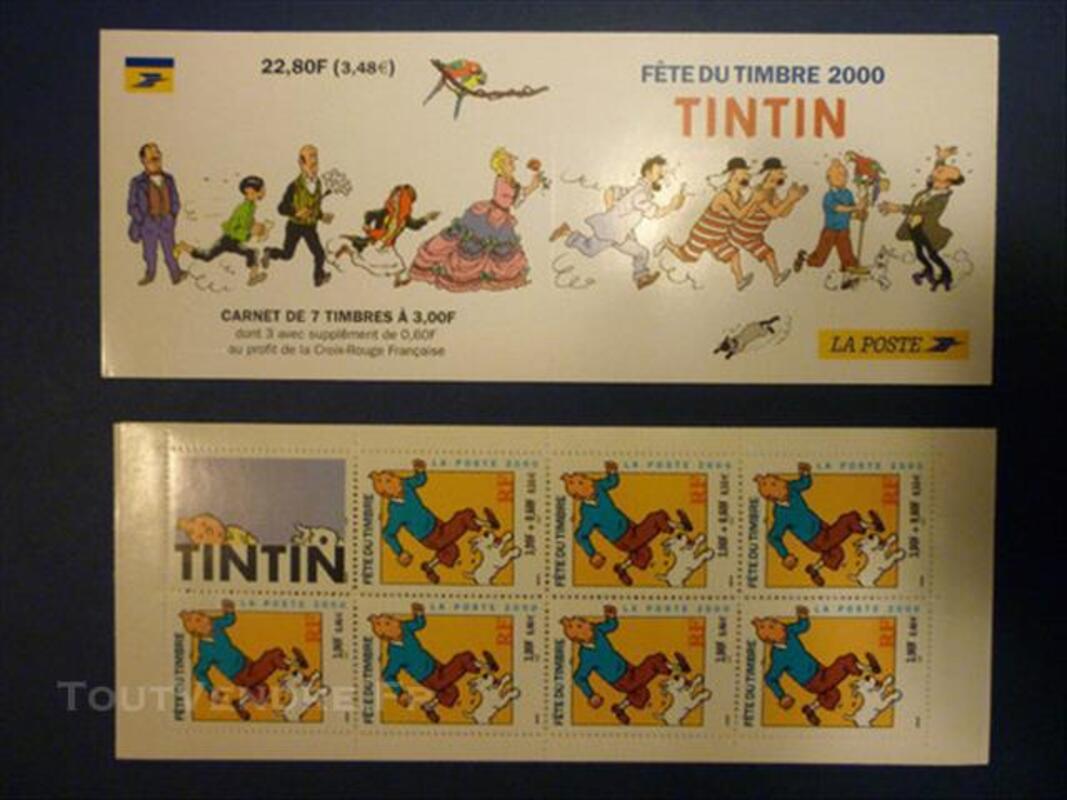 Timbres TINTIN 76855929