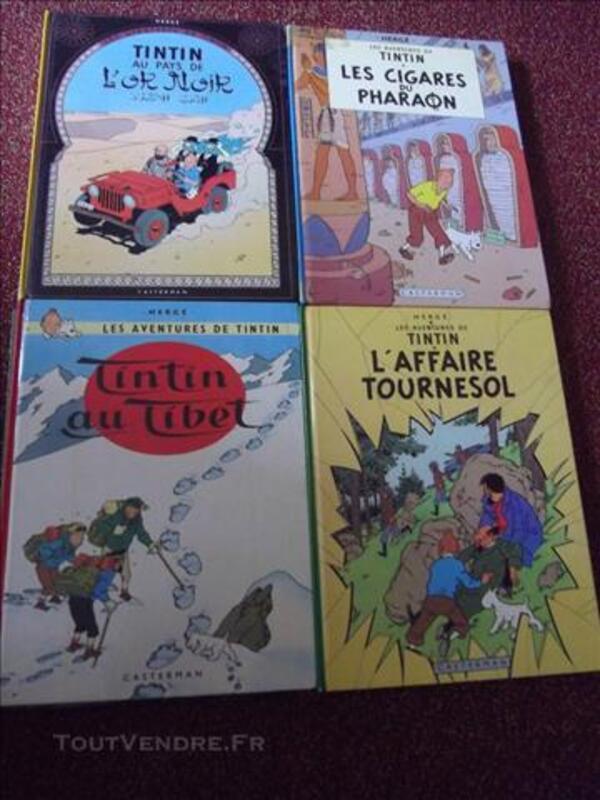 Tintin BD ,11 BD;cote année 1979 à  1984 84090851