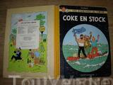 "Tintin ""COKE EN STOCK"""