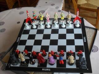 Tintin jeu d'échec pixi no aroutcheff leblon moulinsart