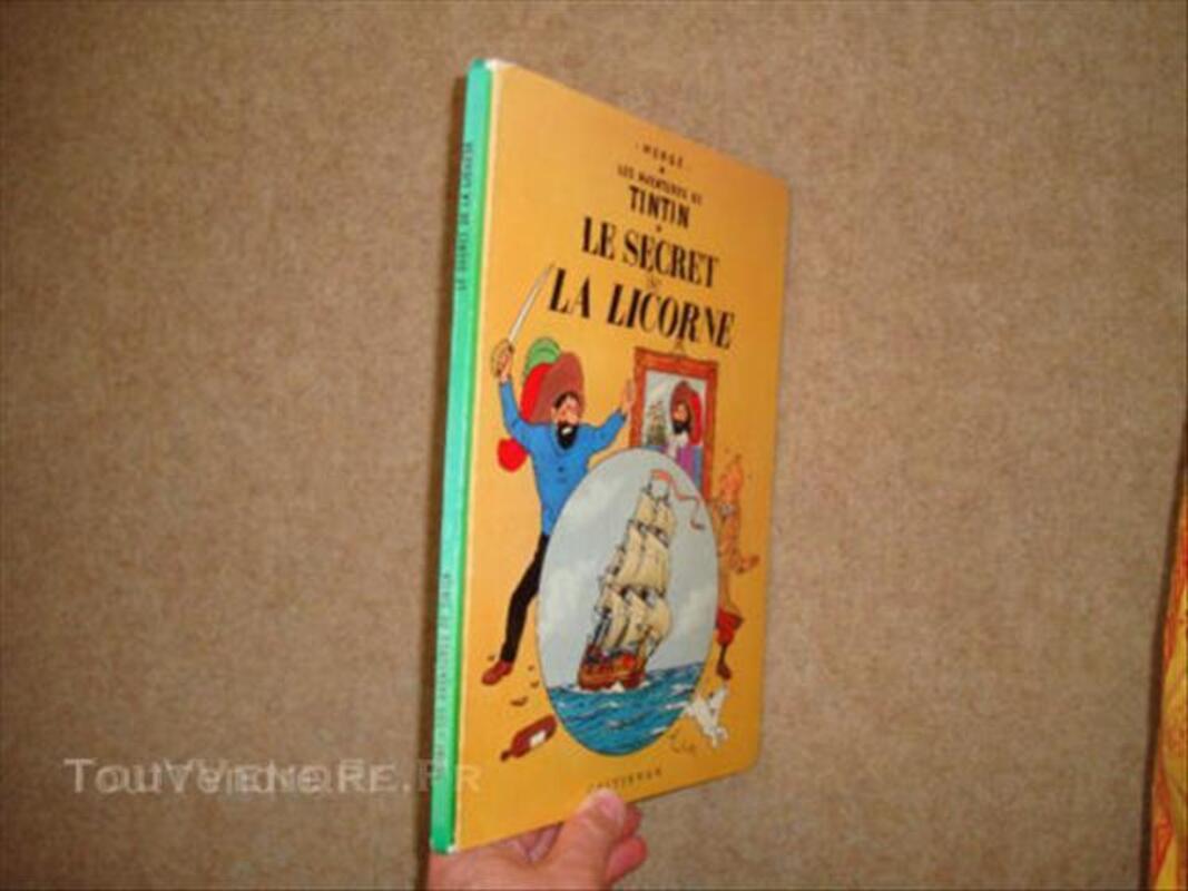 Tintin Le secret de la Licorne Edition B36 1966 45563404