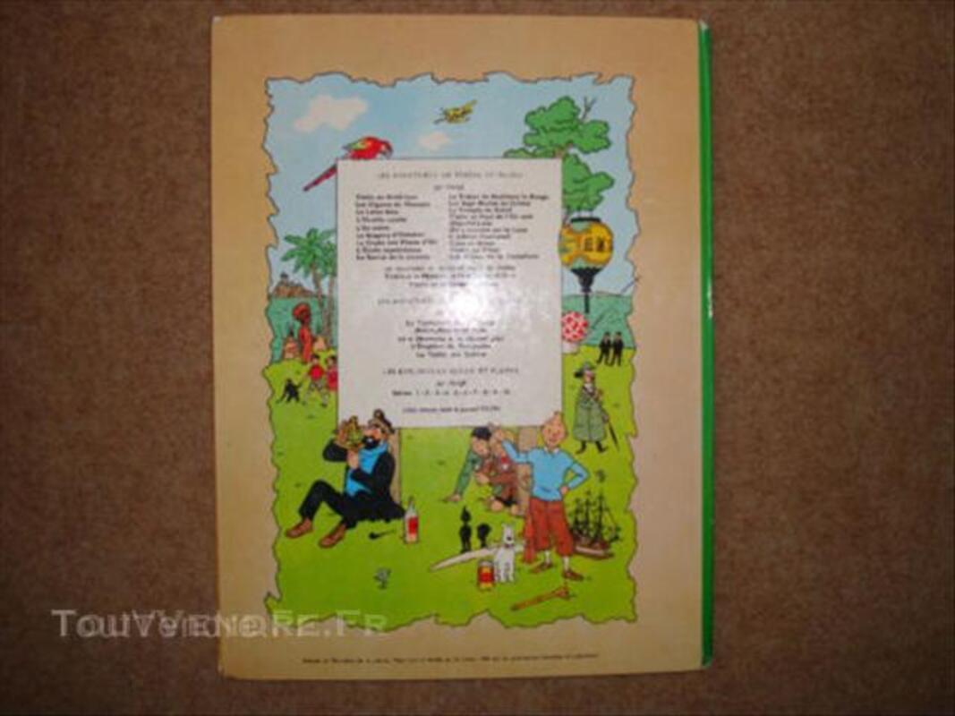Tintin Le secret de la Licorne Edition B36 1966 45563405