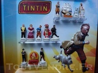 Tintin le secret de la licorne, en cadre luxe limitèe.