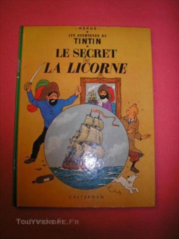 Tintin secret licorne 43917082