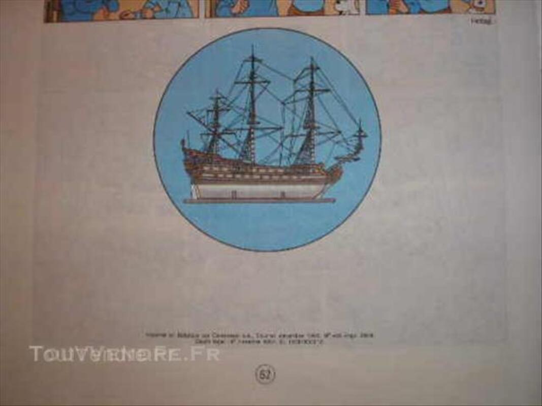 Tintin secret licorne 43917084
