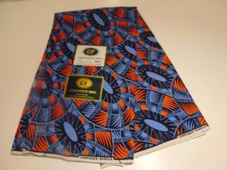 Tissu wax africain (les 4 mètres)
