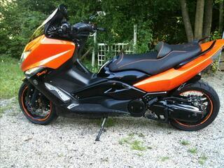 Tmax 500 abs trackeur orange ktm unique