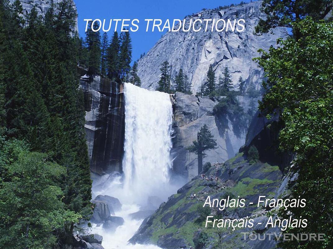 Toutes traductions rapides  français-anglais 232414777