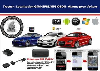 Traceur Auto GPS alarme suivi